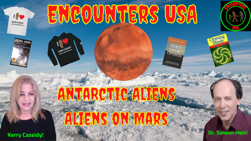 Mars, Alien Technology in the Antarctic and a Mysterious Secret Space Program