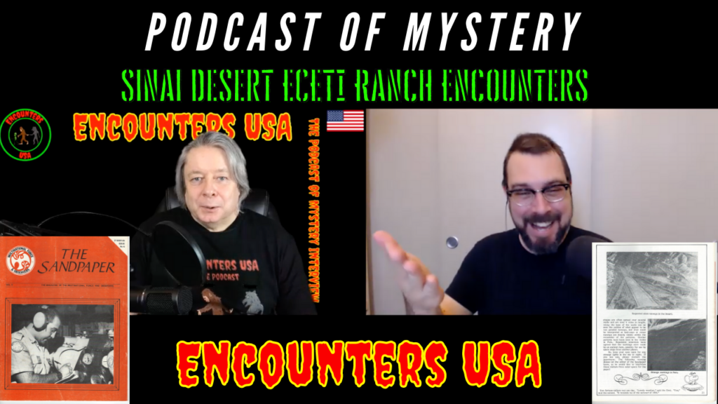 UFO Encounter Egypt and ECETI Ranch