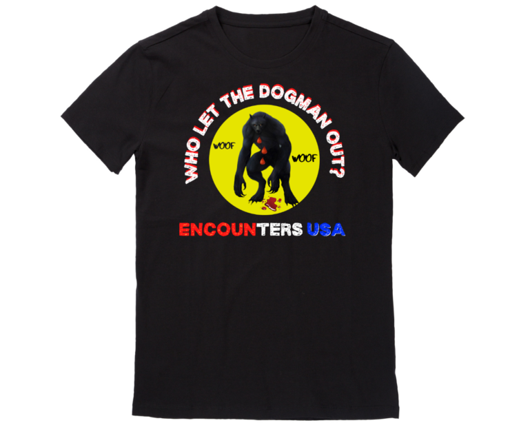 Who Let The Dogman Out T-shirt